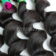 3 or 4 Bundle Deals Standard Hair Extension Brazilian Loose Wave 100% Unprocessed Extensions