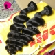 Best Match Top Lace Closure With 3 or 4 Bundles Malaysian Loose Wave Standard Virgin Human Hair Extensions