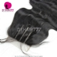 Lace Top Closure (4*4) Body Wave Human Virgin Hair Freestyle Free Part Middle Part Two Part Three Part