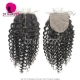 Silk Base Closure (4*4) Deep Curly Virgin Hair Top Closure Freestyle Free Part Middle Part Two Part Three Part