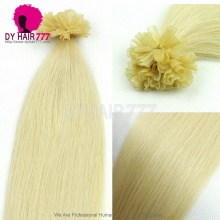 #613 Blonde Hair U tip Virgin Brazilian Straight Hair100g