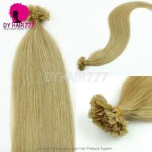 U tip Color#27 Brazilian Hair Virgin Stright Hair 100g