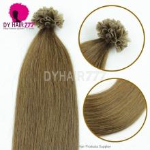 #8 Remy Human Hair U tip Virgin Straight Hair 100g