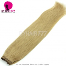 Color 27 Unprocessed Straight Hair 100% Human Hair