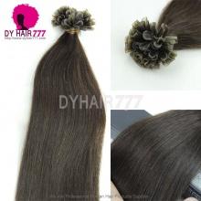 #2 U-Tip Straight Hair Extensions Grade 6A Virgin Hair 100g