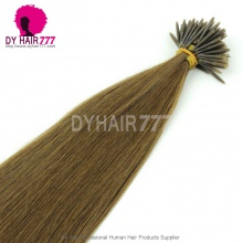 100% Unprocessed Human Hair Weft Weaves #6 Stick I Tip Straight 100g