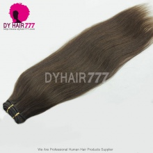 Unprocessed Virgin Brazilian Hair Straight #2 Brown Hair100% Human Hair Straight