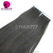 Brazilian Virgin Hair Wholesale Straight Human Hair Weaves Tape 20pcs 50g