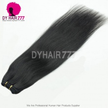 #1B Brazilian Vrgin Hair Cheap High Quality Thick Human Hair Weave Straight