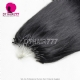 Micro Rings/Loops Color #1 Brazilian Human Hair Extension 100g