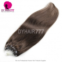 Micro Rings/Loops Brazilian Human Hair Extension Color 2# 100g