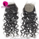 Silk Base Closure (4*4) Natural Wave Virgin Hair Top Closure Freestyle Free Part Middle Part Two Part Three Part