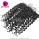 Ear to Ear 13*4 Lace Frontal Closure Virgin Human Hair Deep Wave Natural Color