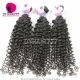 3 or 4pcs/lot Royal Cambodian Virgin Hair Deep Curly Human Hair Extension