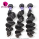 Lace Frontal With 3 Bundles Royal Cambodian Virgin Hair Loose Wave Hair Weave Best Match