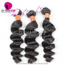 3 or 4 Bundle Deals Royal Virgin Hair Burmese Loose Wave Human Hair Extensions