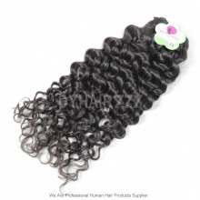 Standard 1 Bundle Brazilian Virgin Hair Italian Curly Human Hair Extension