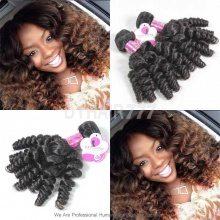 3 or 4 Bundles Royal Brazilian Virgin Hair Spiral Curls Human Hair Extension