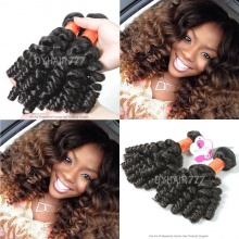 Unprocessed Royal 3 or 4 Bundles Burmese Bundles Deal Virgin Spiral Curly Wave Hair Extension