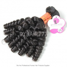 Royal Burmese Virgin Hair Spiral Curly Wave 1 Bundle Deal Hair Weft