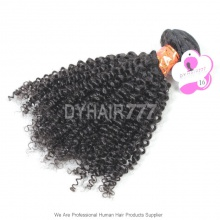 Royal Burmese Virgin Hair 1 Bundle Kinky Curly Wave Hair Extension