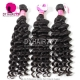 Best Match 4*4 Silk Base Closure With 4 or 3 Bundles Royal Virgin Remy Hair Malaysian deep wave Hair Extensions