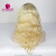 130% Density Lace Front Wig Ombre Color 1B/613 Body Wave Virgin Human Lace Wig
