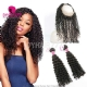 Royal Grade 2 or 3 Bundles Virgin Brazilian Deep Curly With 360 Lace Frontal Hair Extensions