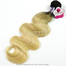 Royal 1 Bundle Ombre1B/613 Cambodain Virgin Hair Body Wave Hair Extensions