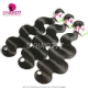 Best Match 4*4 Silk Base Closure With 3 or 4 Bundles Standard Virgin Hair Malaysian Body Wave Human Hair Extenions