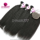 Best Match Royal 3 or 4 Bundles European Virgin Hair Kinky Straight With 4*4 Top Lace Closure Hair Extensions