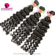 3 or 4pcs a lot Royal Burmese Virgin Hair Deep Wave Human Hair Extension
