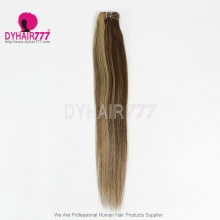 Color P4/27 Brazilian Straight Hair Human Hair Extension