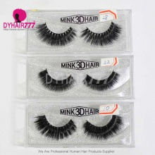 3D Mink Hair Black Makeup Eyelash (leave message for the style number,or by random)