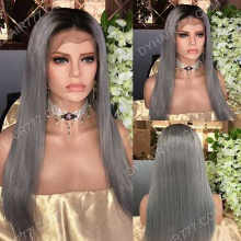 Full Lace Wig 130% Density Human Hair Customize Wig 7 Working Days Ready TBG5-F