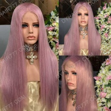 Full Lace Wig 180% Density Human Hair Customize Wig 7 Working Days Ready FPST6-F