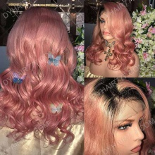 Full Lace Wig 150% Density Human Hair Customize Wig 5 Working Days Ready TPBW9-F
