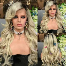 Full Lace Wig 130% Density Human Hair Customize Wig 7 Working Days Ready TBC12-F