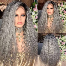 Full Lace Wig 200% Density Human Hair Customize Wig 10 Working Days Ready GTCW20-F