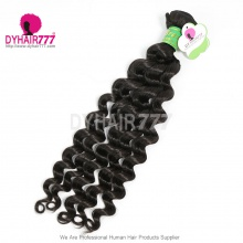 1 Bundle Cheap Brazilian Standard Hair Weaving Deep Wave 100% Human Vigin Hair Extensions DY Hair Products