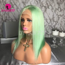 Lace Front Wig 130% Density Human Hair Customize Wig 7 Working Days Ready QGST41-L
