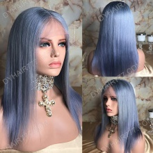 Full Lace Wig 130% Density Human Hair Customize Wig 5 Working Days Ready BCST43-F