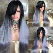 Full Lace Wig 150% Density Human Hair Customize Wig 7 Working Days Ready LHST44-F