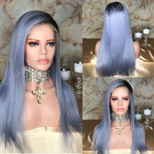 Full Lace Wig 150% Density Human Hair Customize Wig 7 Working Days Ready LAZF49-F