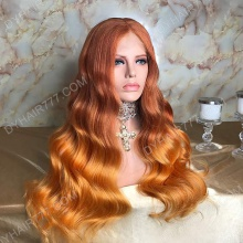 Lace Front Wig 200% Density Human Hair Customize Wig 7 Working Days Ready QBLW47-L