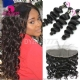 Lace Frontal With 3 Bundle Royal Virgin European Loose Wave Human Hair Extensions