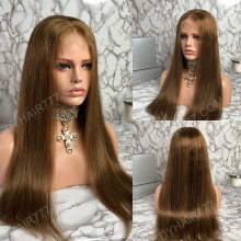 Full Lace Wig 130% Density Human Hair Customize Wig 5 Working Days Ready FZST21-F