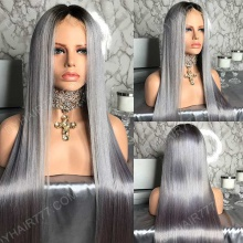 Full Lace Wig 180% Density Human Hair Customize Wig 7 Working Days Ready TGST26-F