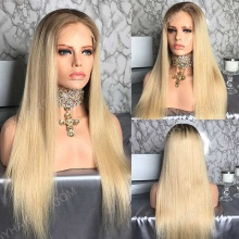 Full Lace Wig 150% Density Human Hair Customize Wig 7 Working Days Ready GSTB28-F