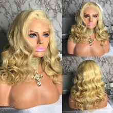 Full Lace Wig 150% Density Human Hair Customize Wig 7 Working Days Ready BLWF33-F